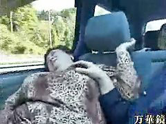 Granny, Asian, Bus