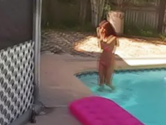 Masturbation outdoor, Masturbate outdoor, Amateur pool, Amateur outdoor, Pool sex, Pool masturbation