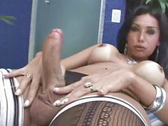 Bus, Tugging, Tugs, Tug, Tranny busty, Tranny outdoor