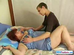 Mom, Mom and son, Bbw, Mom son, Russian