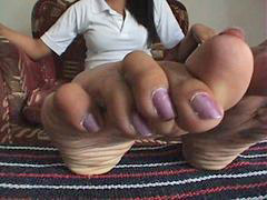 Long nail, Long toes, X wide, Spreading e, Spread wide, Nail long