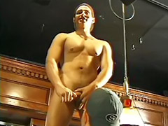 In bar, Bar, Gay wank, Gay deepthroat, Wank gay, Deepthroat anal