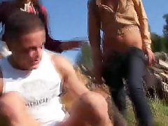 Teen shows, Teen showing, Teen show, Taná, Tans, Tanned teens