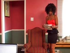 Eboni big ass, Office ass, Interracial office, Interracial big ass, Interracial ass, Ebony interracial