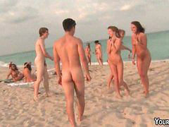 Orgy, Beach