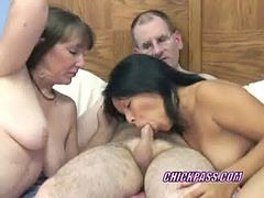 Threesome, Swing, Mature swing, Brooke, Brooks, Çin mature