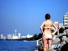 Flashing, Bea cummings, Flashing beach, On beach, Flashing cum, Beach flashing