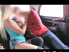 Taxi, Car masturbation, Public blowjob, Titfuck, Tv sex, Taxis