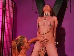 Femdom, Spanking lesbian, Lesbian fun, Lesbian lick, Toy sex, Masturbation lesbians