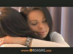 Lesbian teen, Teen lesbian, Teen, Orgasm, Teen brunette, Lesbian