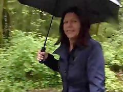 Rainy day, Rainy, Public nudist, Nudities, German public flash, German flash