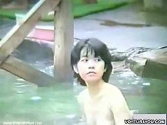Voyeur, Bath, Voyeur bathing, Voyeur bath, Voyeur outdoor, Outdoor bathing