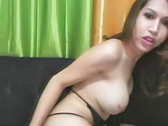 Travesti morocha, Shemale masturbando, Masturba, Masturbacion de hombre, Piernas, Mallones