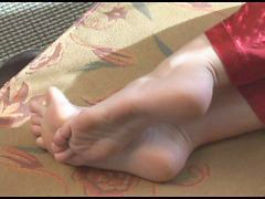 Feet, Mom, Moms, Home, Sexy mom, Sexy