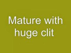 Clit, Clits, Huge clit, Huge clits, Mature cam, Mature huge