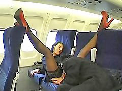 Beautiful, Plane, Stewardess