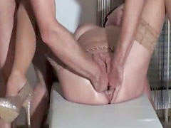 Fisting, Fist, Orgasm, Pissing, Piss, Wife