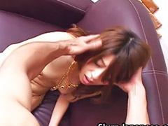 Japanese, Performing, Performance, Sasaki, Nagisa, Japanese couple blowjob