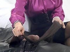 Teasing stocking, Teasing handjobs, Teasing denial, Tease handjob, Tease denial, Pantyhose bdsm