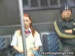 Redhead fingers, Redhead fingering, Süt tokyo, Tokyo, Gere, Coeds