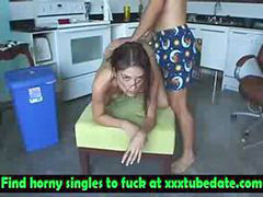 Dildo, Girlfriend, Tied up