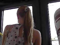 Voyeur upskirts, Voyeur thong, Voyeur blond, Upskirt thong, Thonges, Blonde thong