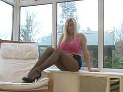 Pantyhose, Tease, Michelle thorne, Michelle, Teasing, Michelle b