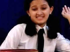 Indian, School, Girl, Horny