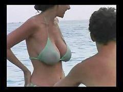 Milf, Bikini, Beach, Hot milf, Bikinis, Milf hots