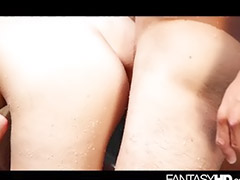 All outdoor, Sex outdoor hot, Small vagin, Small tits cum, Small tits brunette, Small tit sex