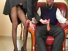 Pantyhose fuck, Old guy fucked, Pantyhose fucking, Old guy, Fuck pantyhose, Guy old