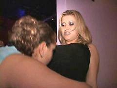 Bbw, Public, Big blonde, Blond milf, Big tit milf, Lesbos