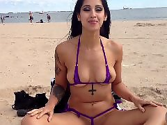 Beach, Flashing, Latin, Public