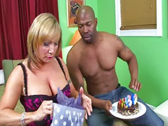 Chocolate, Milf double, Milf threesome, Fed, Double mature, Choco