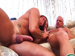 Hairy anal, Rimming, Gay