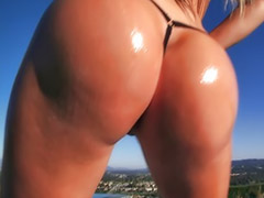 Big ass anal, Pool