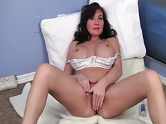 Masturbation, Shaving, Young, Milf solo, Young girl