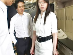 Japanese teacher, Japanese gangbang