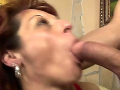 Anal creampie, Mature anal