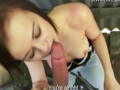Cash, 2 czech men, Czech girls, Anal pov, Public cash, Anal public