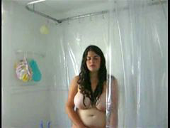 Chubby bbw, Bbw shower, Shower bbw, Big fat tits, Chubby shower, Tits fat