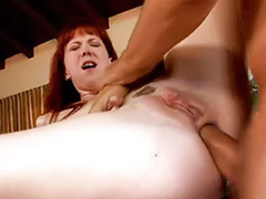 Redhead blowjob, The poole, Table sex, Table fuck, Table anal, Redhead, anal
