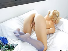 Blonde pigtail, Teen shaved solo, Monroe, Gta, Pigtails blonde, Pigtailed