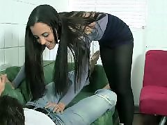 Young teen, Teen, Young, Ballbusting, Cbt
