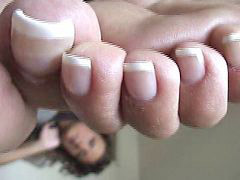 French, Raven, Pedicure, Ravenes, Pedicur, French tease