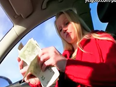 Money, Public blowjob, Sex money, Amateur pov, Public money, Pov oral