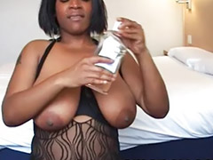 Busty ebony, Big cock blowjob, Ebony black, Amateur pov, Pov oral, Black pov