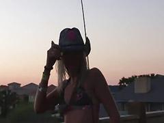 Fish, Fishing, Public girl, Nice girl, Fishings, Evens