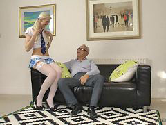 Seduced girl, Schoolgirl seduced, Old seduce, Old an, Old dude, School girl seduced