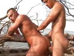 Секс на пляже, Секс пляж анал, Плажа секс, Геи на пляже, На анал, Пляж возбуждает
